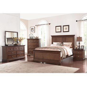 Bakersfield Tamarack 5 Piece King Bedroom Set in Hazelnut, , large