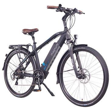 Magnum Metro+ Electric High Step Bike in Black, , large
