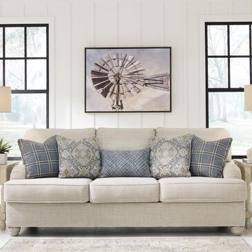Signature Design by Ashley Traemore Sofa in Linen, , large