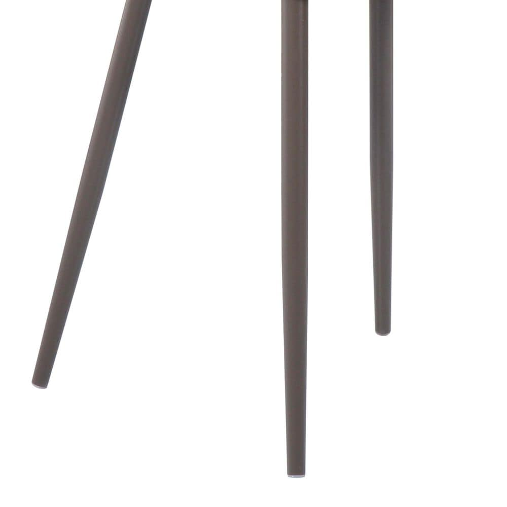 Moe's Home Collection Giardino Patio Dining Chair in Grey (Set of 2), , large