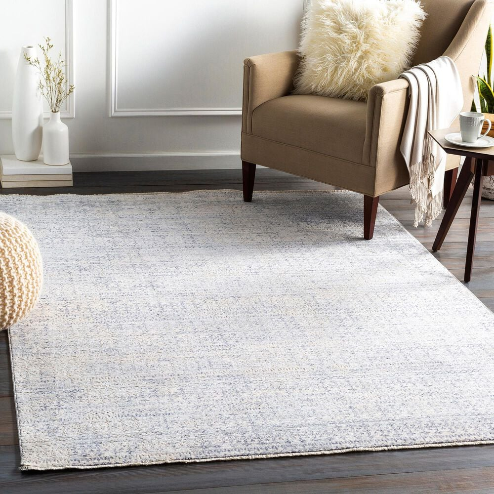 """Surya Presidential PDT-2316 3'3"""" x 5' Blue, Gray and Ivory Area Rug, , large"""