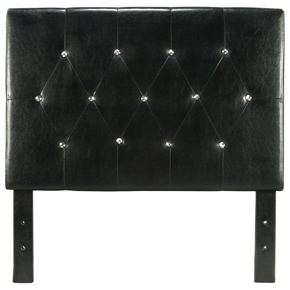 Furniture of America Benson Twin Headboard in Black, , large