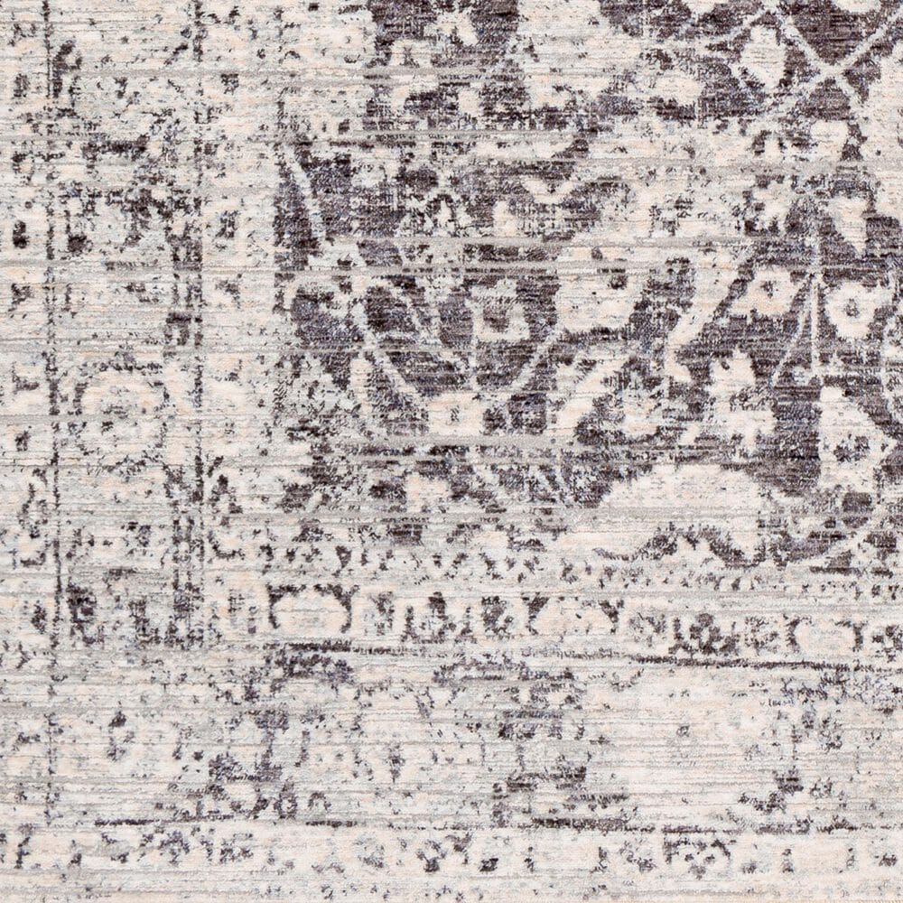 """Surya Presidential PDT-2313 3'3"""" x 8' Blue, Ivory and Gray Area Rug, , large"""