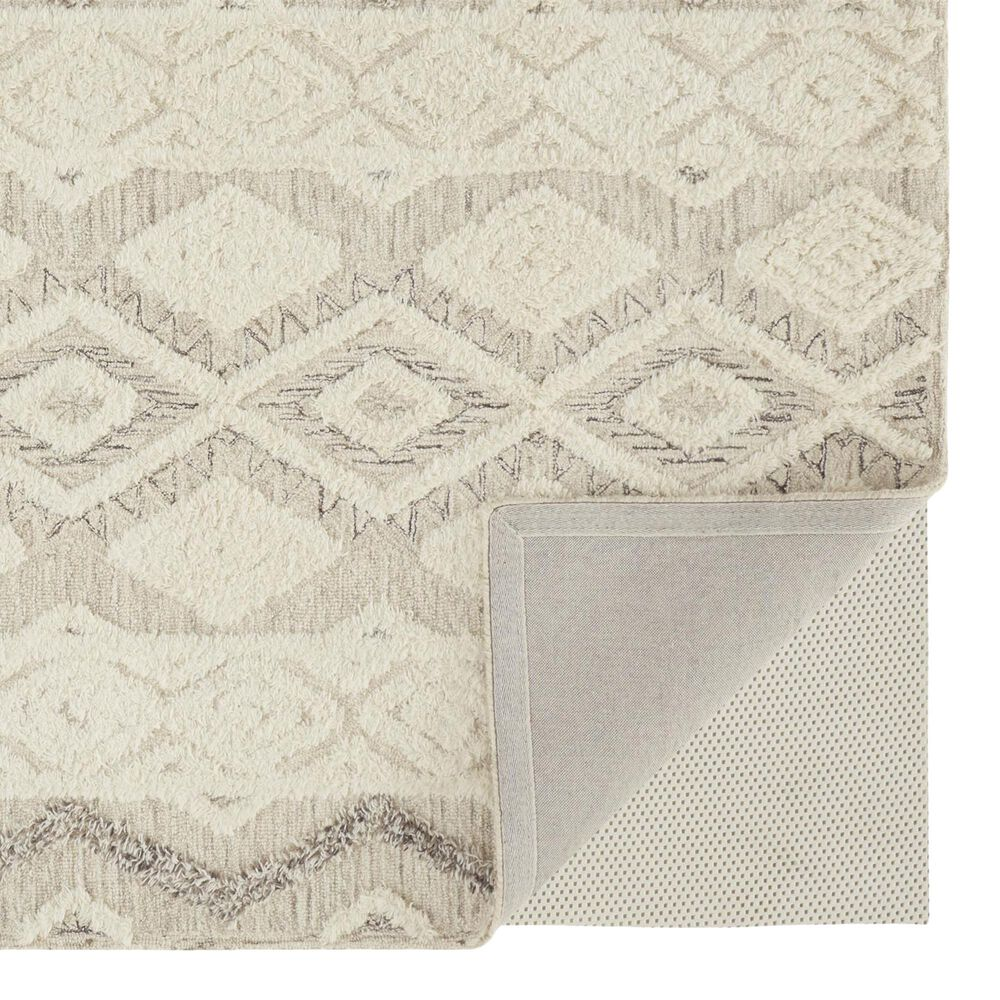 Feizy Rugs Anica 8006F 5' x 8' Gray Area Rug, , large