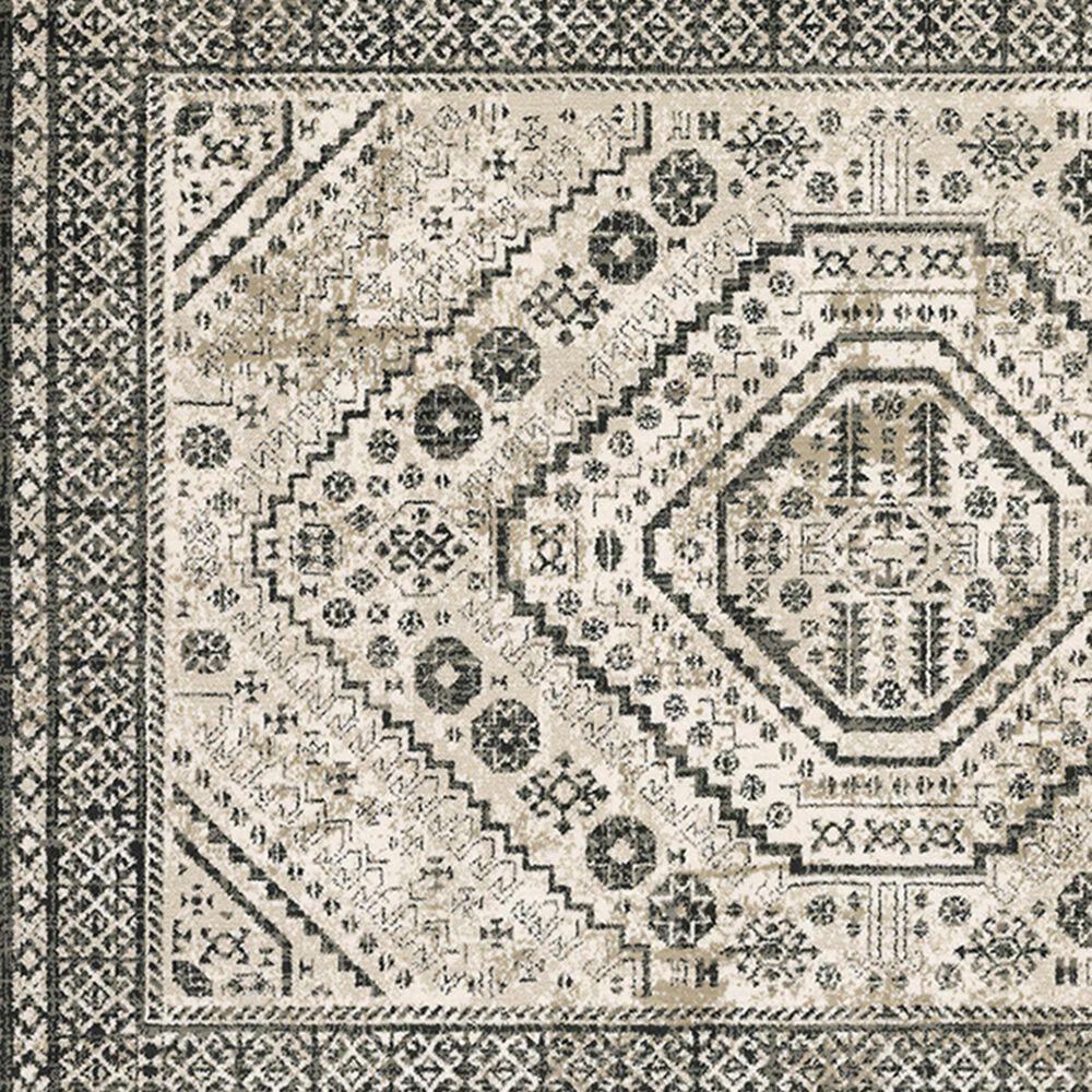 """Oriental Weavers Georgia Medallion 659C0 7'10"""" x 10' Ivory Area Rug, , large"""