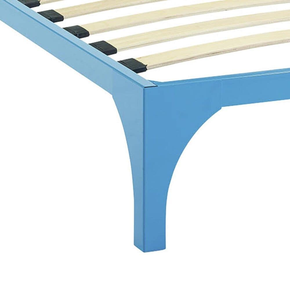 Modway Ollie Twin Bed Frame in Light Blue, , large