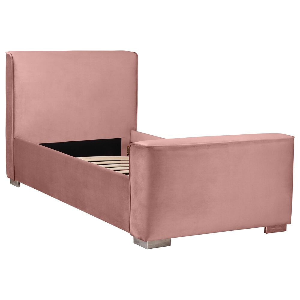 Tov Furniture Madison Twin Bed in Dusty Rose, , large