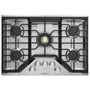"GE Appliances 30"" Gas Sealed Burner Cooktop in Stainless Steel, , large"