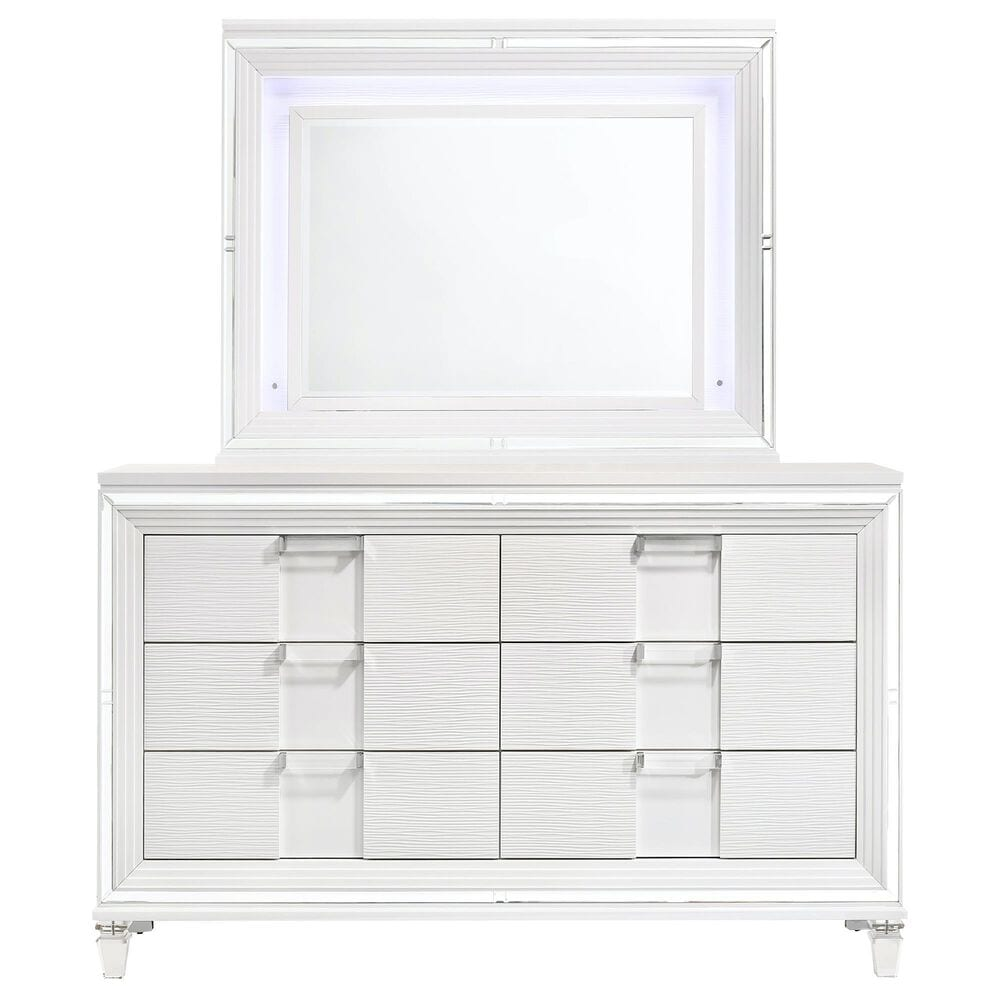 Mayberry Hill Twenty Nine Youth 4 Piece Twin Bedroom Set without Trundle in White, , large