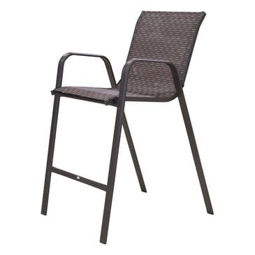 Loni Birch Bar Height Chair in Brown, , large