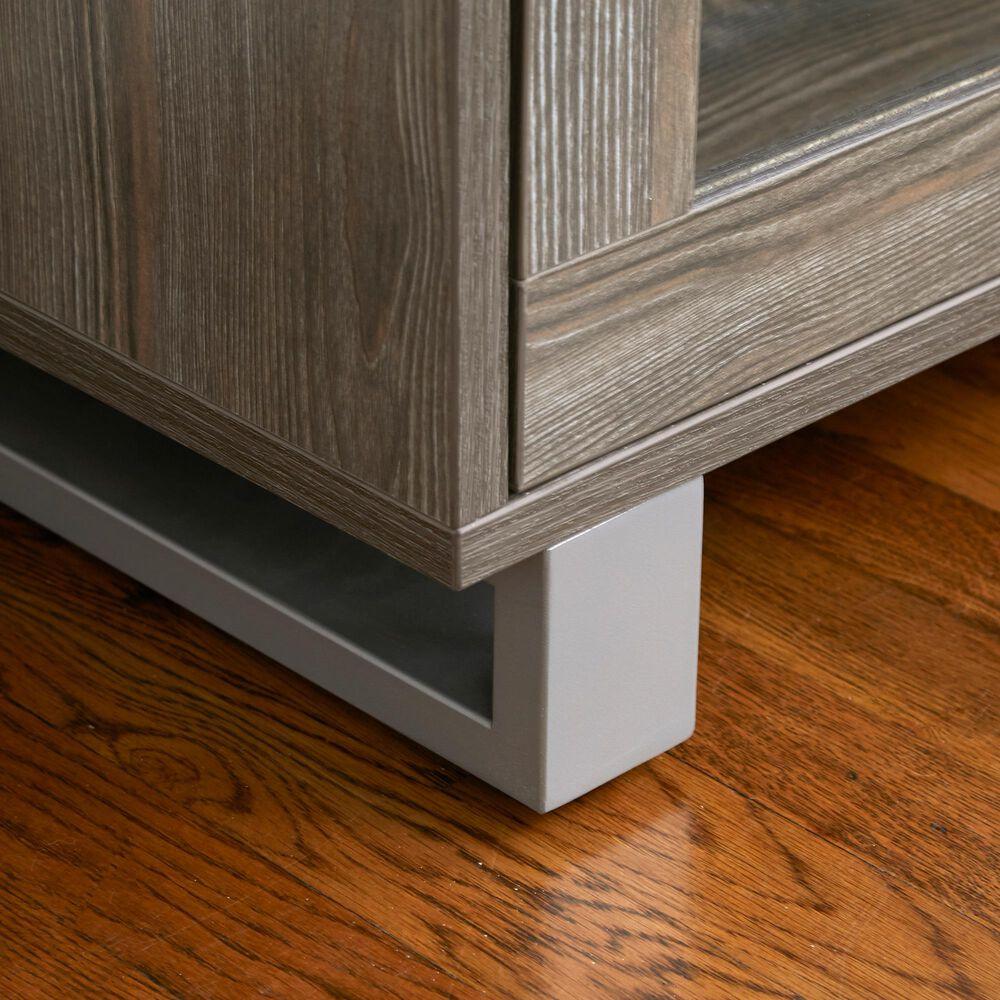 Unique Furniture Kalmar TV Cabinet with 2-Door in Grey, , large