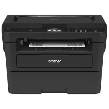 Brother Monochrome Laser Printer with Convenient Flatbed Copy & Scan, , large
