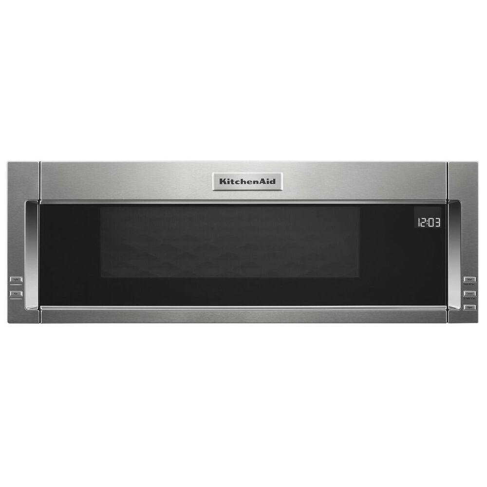 KitchenAid 1000-Watt Low Profile Microwave Hood Combination in Stainless Steel, , large
