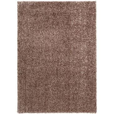 Central Oriental Geneva Shag GS507.104 5' x 7' Oak/Parchment Area Rug , , large