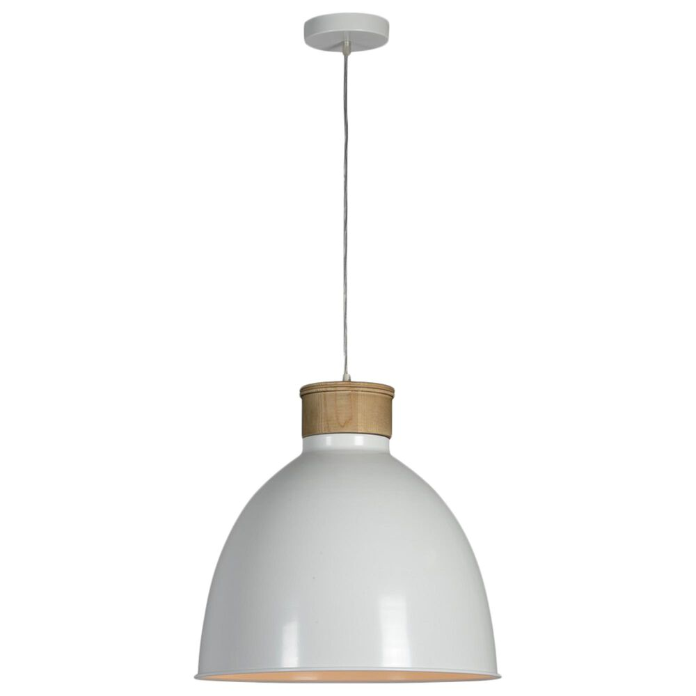 Southern Lighting Boone Pendant in White, , large