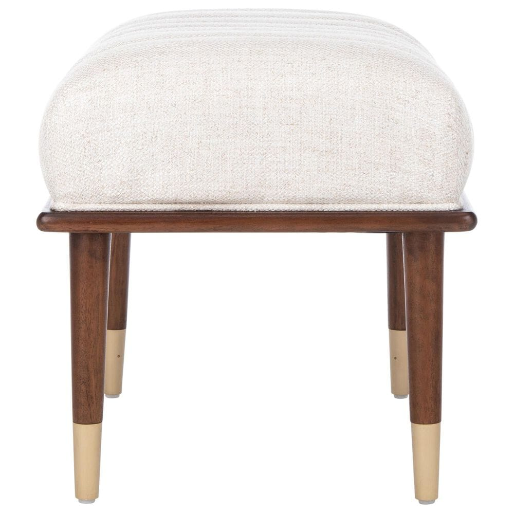 Safavieh Flannery Ottoman in Cream, , large