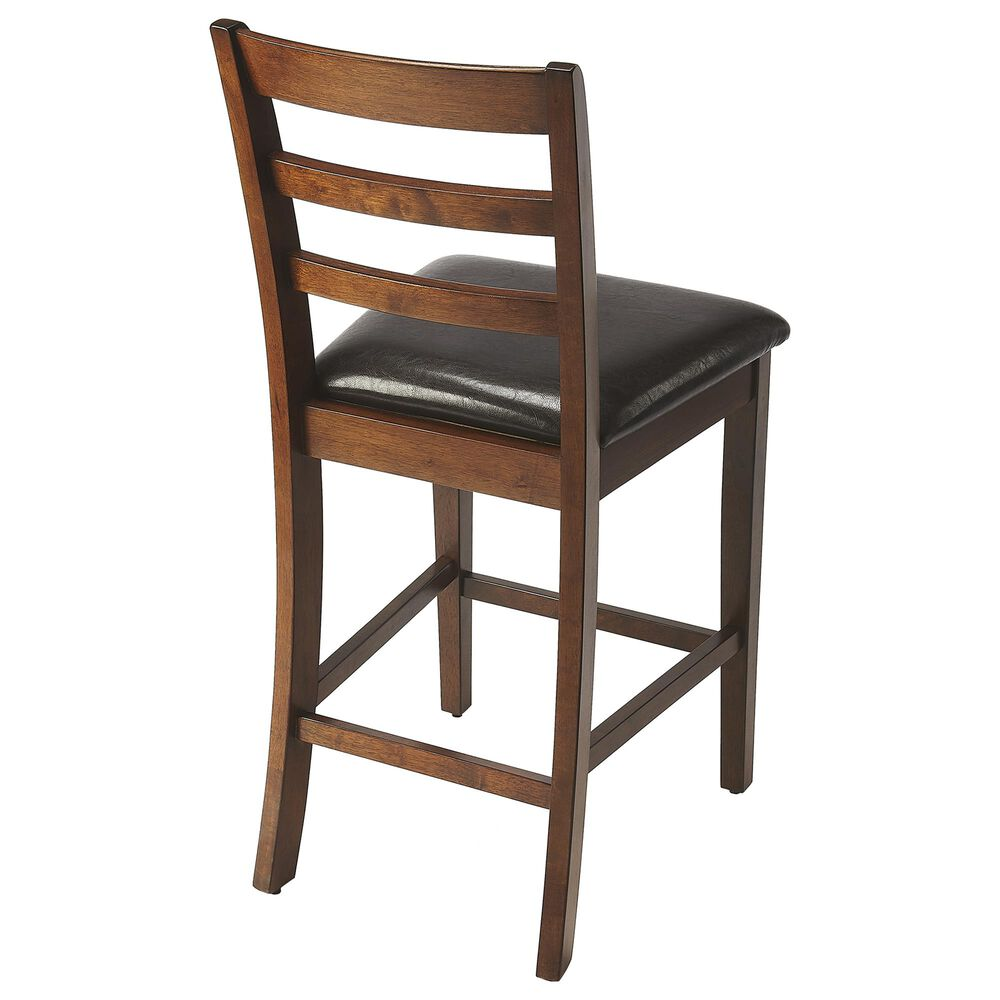 Butler Plato Pub Stool in Dark Brown, , large