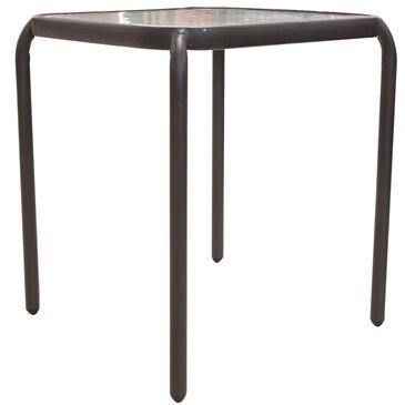 Loni Birch Side Table in Black, , large