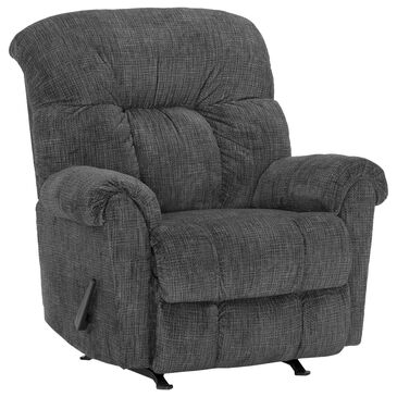 Moore Furniture Darwin Rocker Recliner in Recruit Charcoal, , large