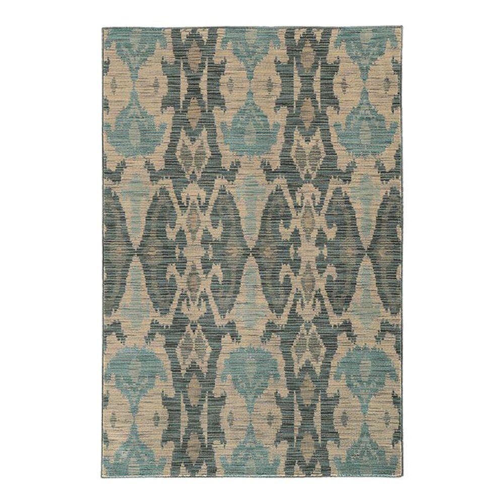 "Oriental Weavers Sedona 6410D 7'10"" x 10'10"" Blue Area Rug, , large"