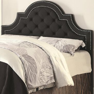 at HOME Ojai Full/Queen Headboard in Charcoal, , large