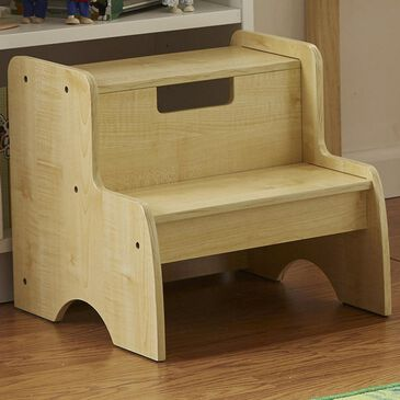 Melissa & Doug Wooden Step Stool in Natural, , large