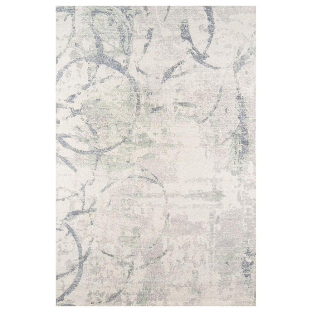 "Momeni Illusions 5' x 7'6"" Gray Area Rug, , large"