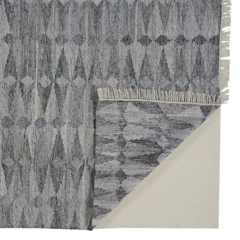 Feizy Rugs Beckett 0814F 5' x 8' Gray Area Rug, , large