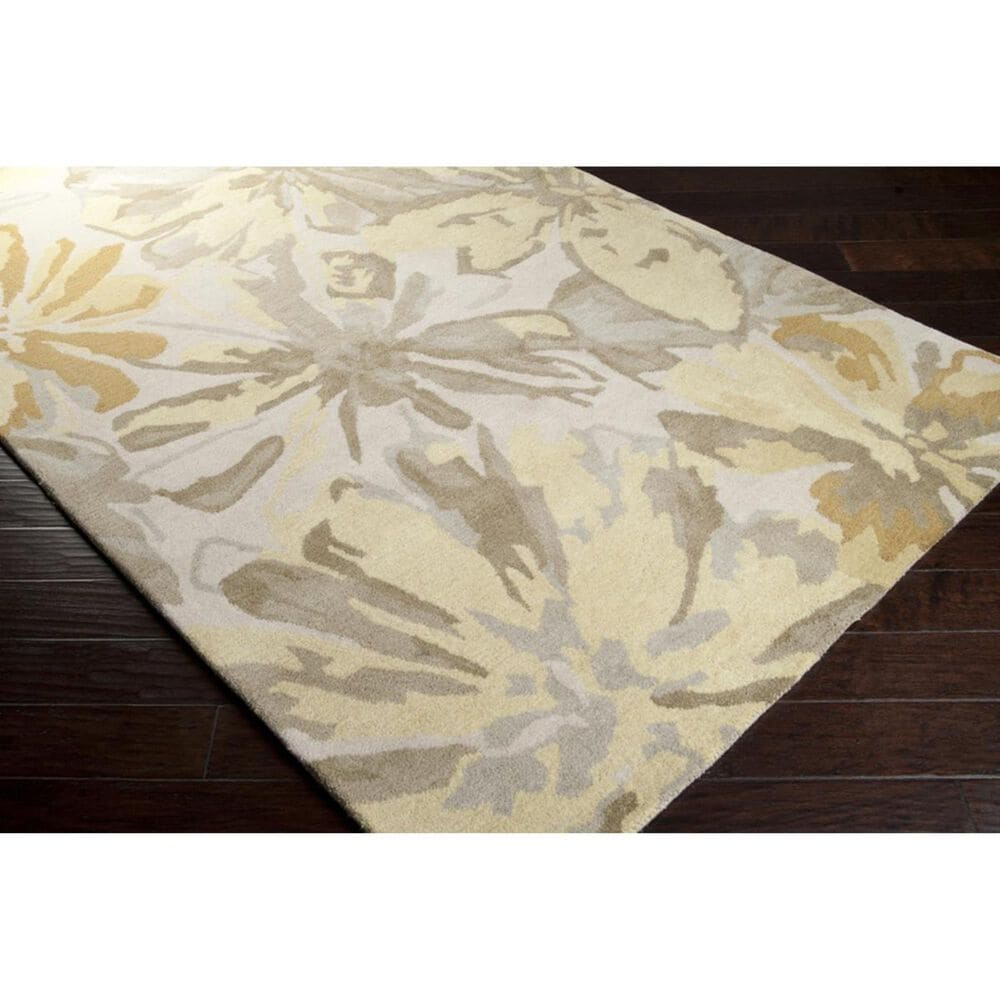 Surya Athena ATH-5071 6' x 9' Lime, Butter and Taupe Area Rug, , large