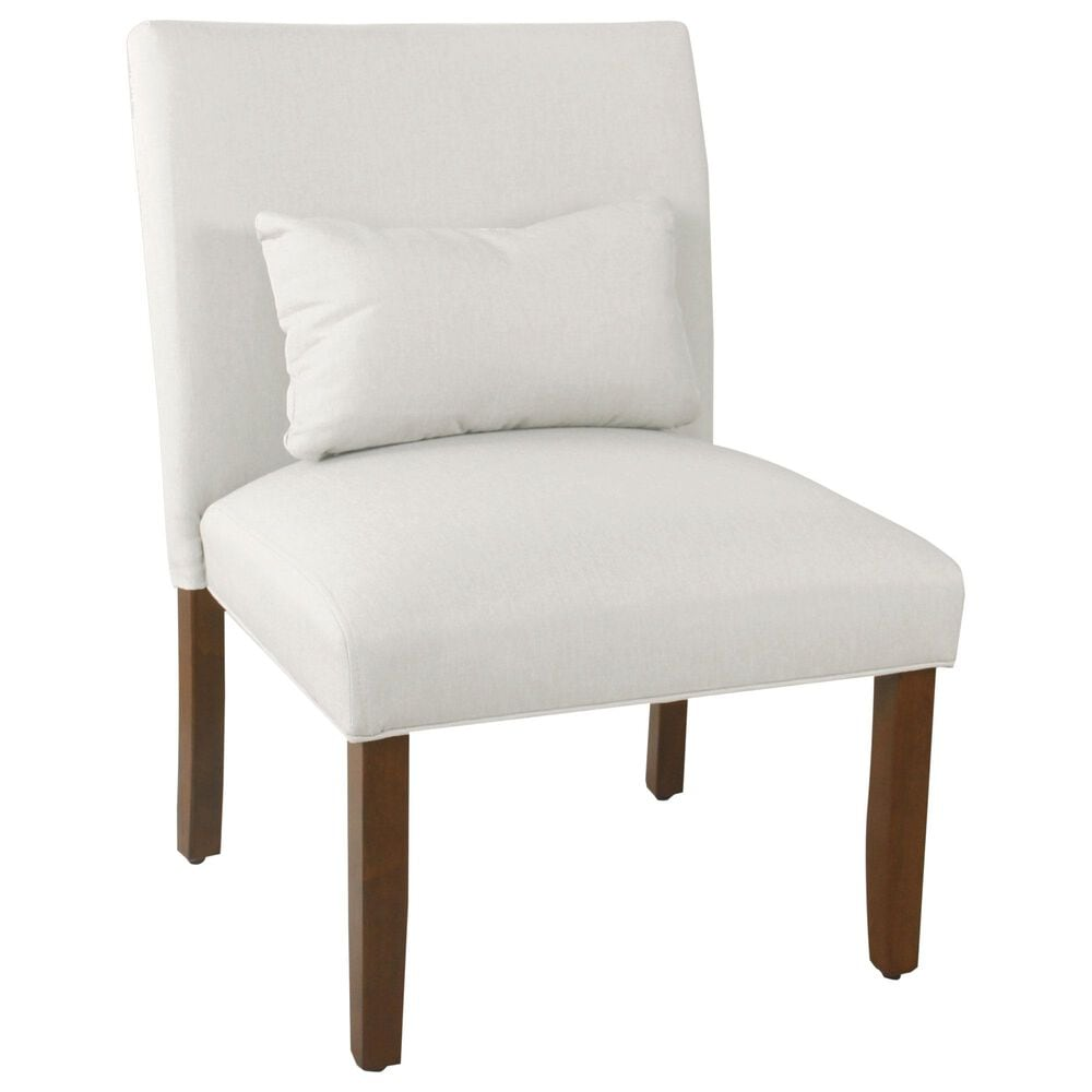 Kinfine HomePop Accent Chair in Cream, , large