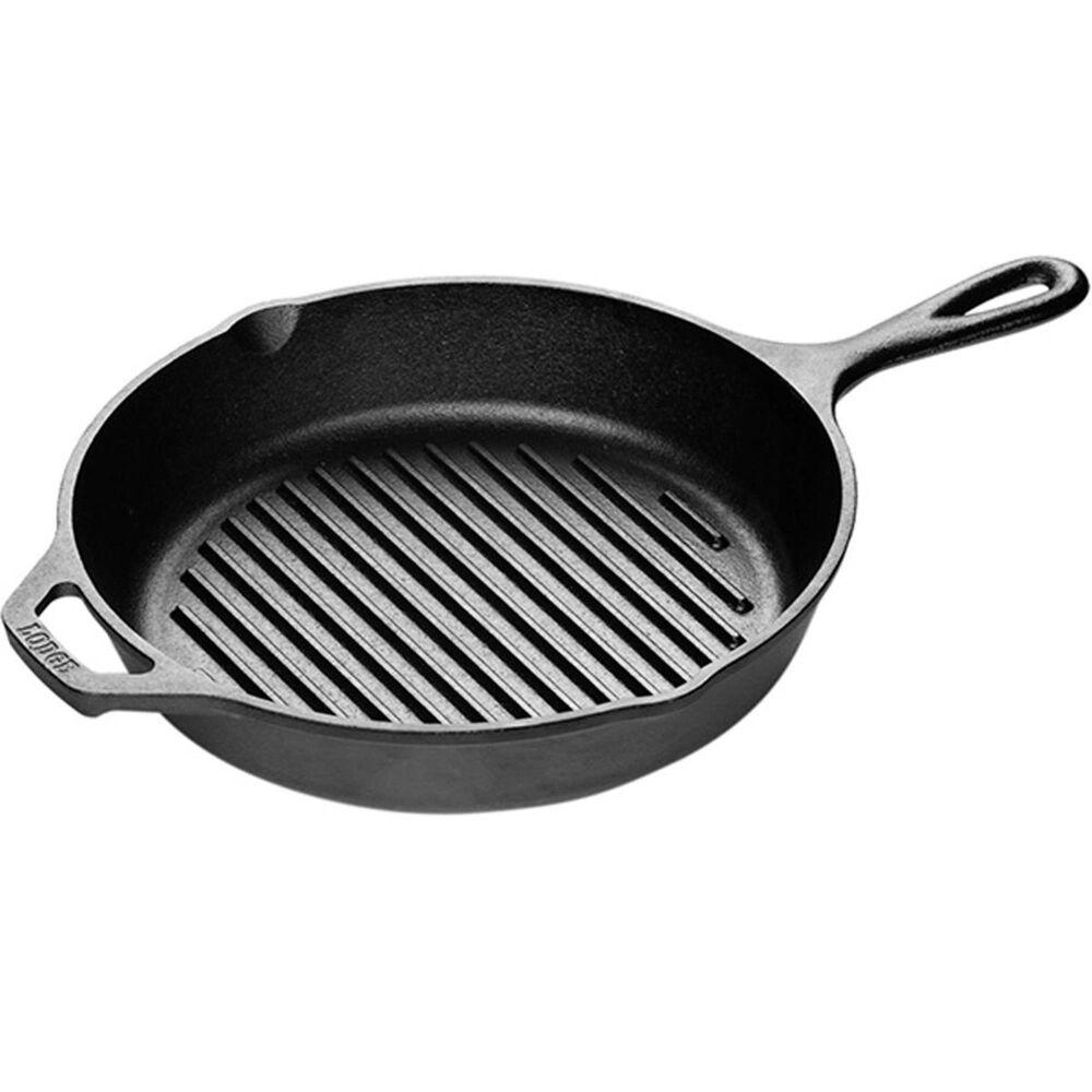 "Lodge Cast Iron 10.25"" Cast Iron Grill Pan , , large"