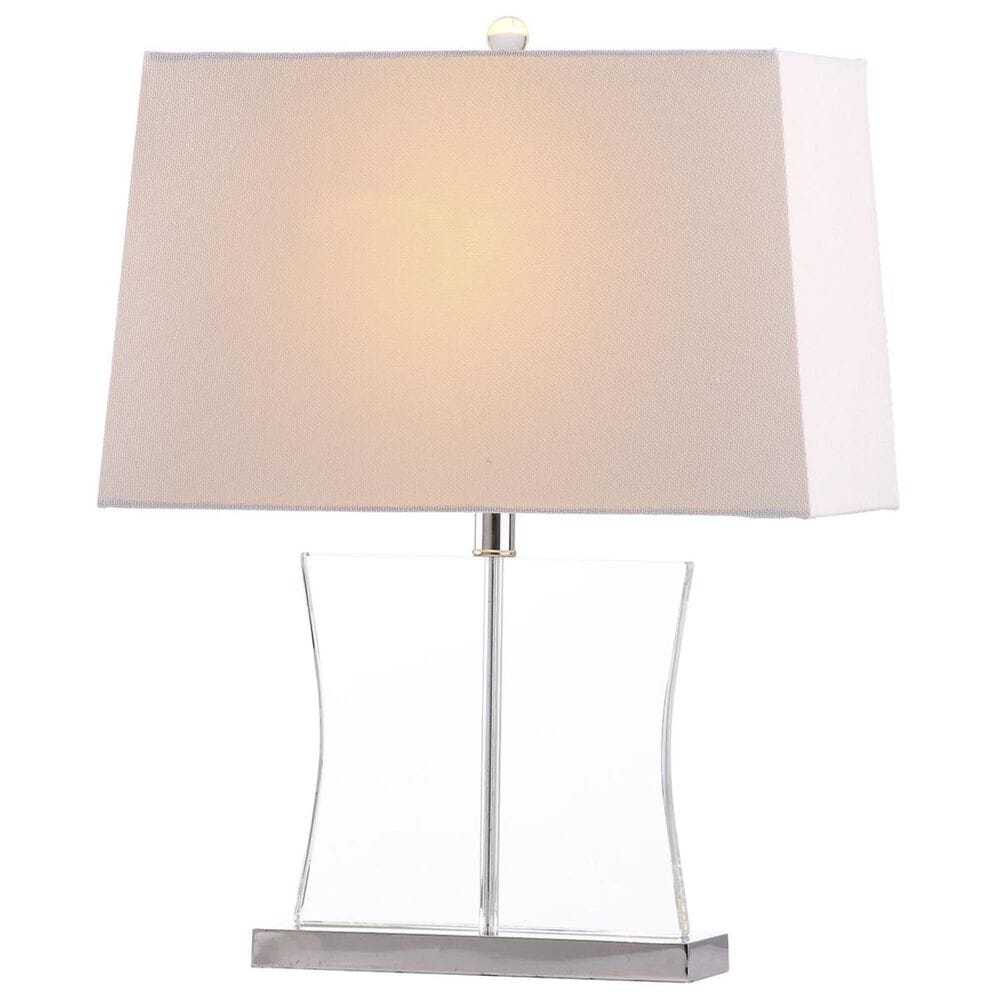 """Safavieh Salcha 23.5"""" Crystal Table Lamp in Clear, , large"""