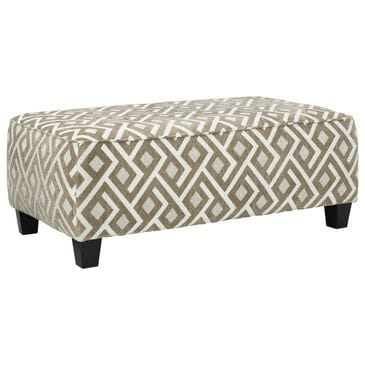 Signature Design by Ashley Dovemont Oversized Accent Ottoman in Costello Putty, , large