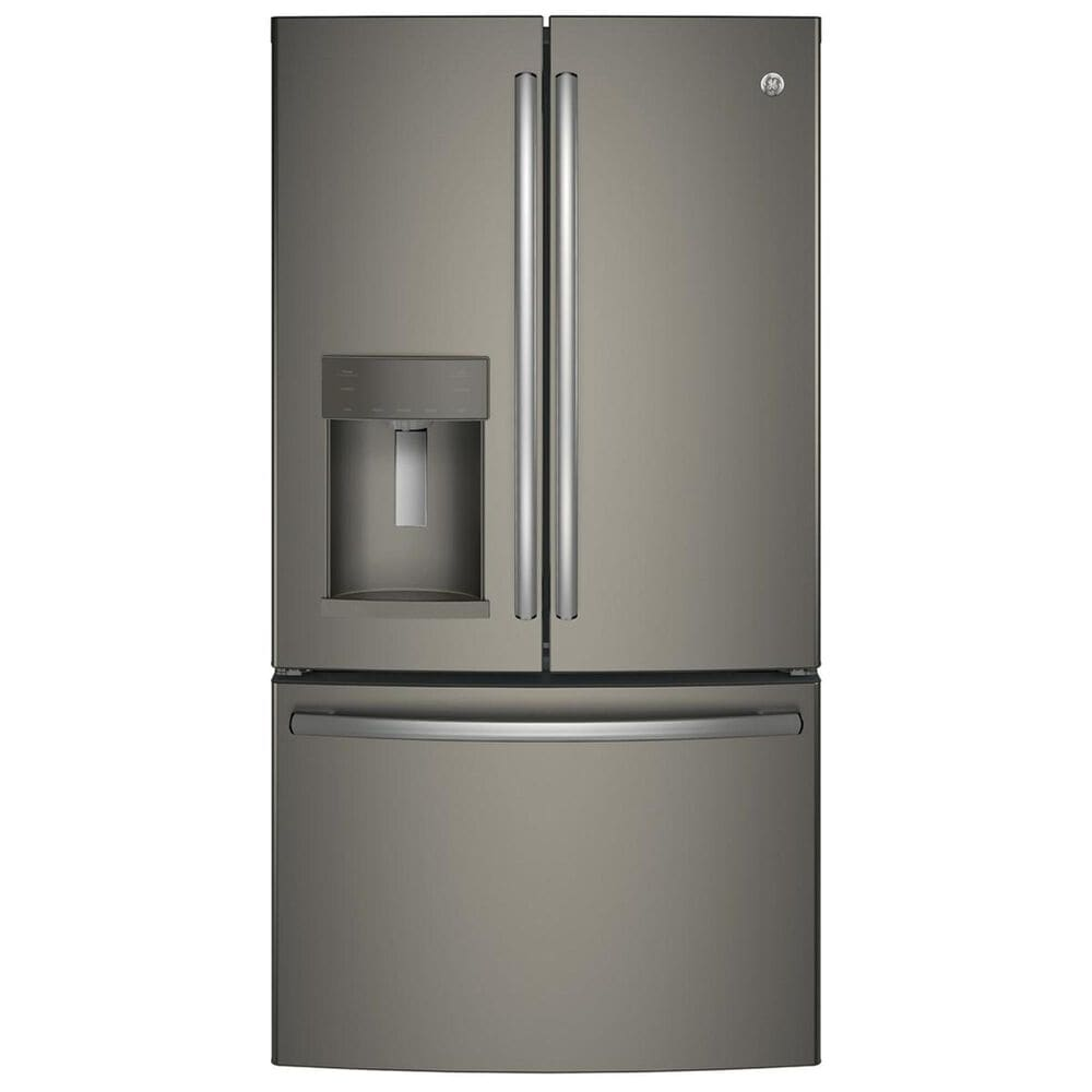GE Appliances 27.8 Cu. Ft. French Door Refrigerator with TwinChill Evaporators in Slate , , large