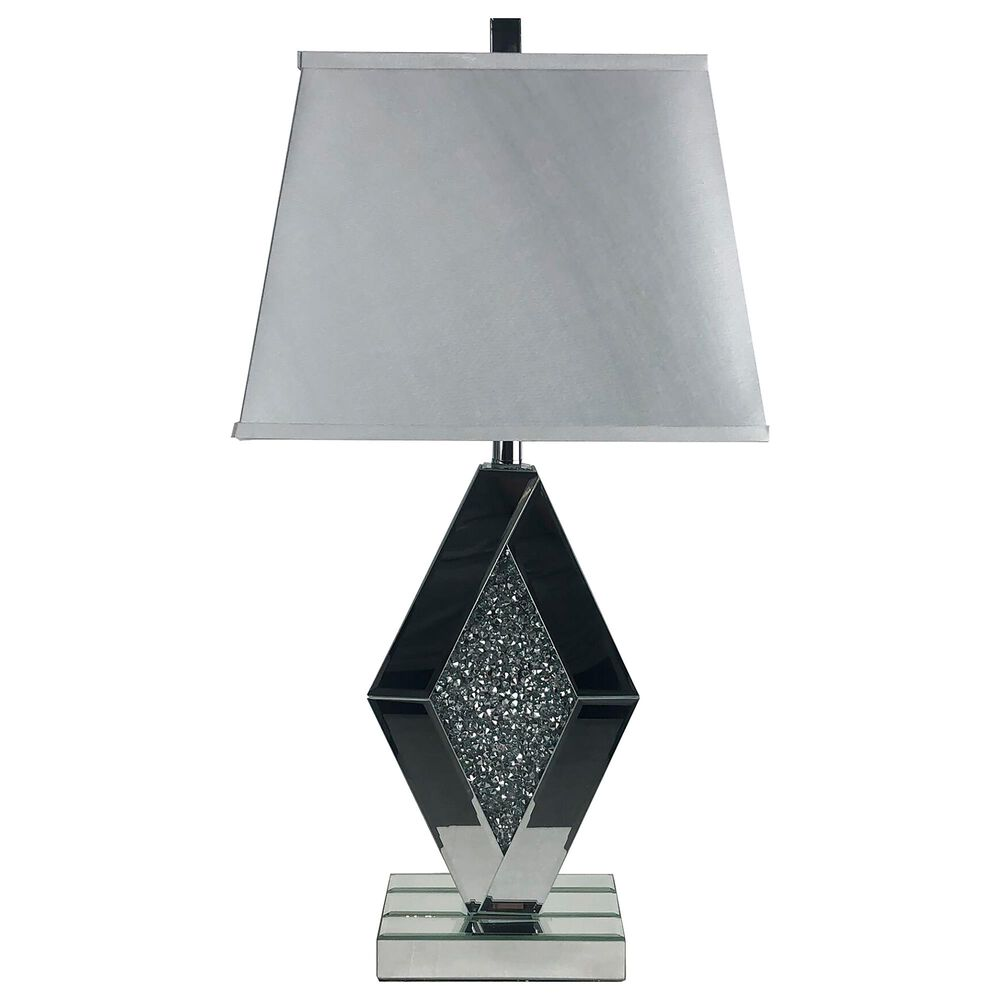 Signature Design by Ashley Prunella Mirror Table Lamp in Silver, , large