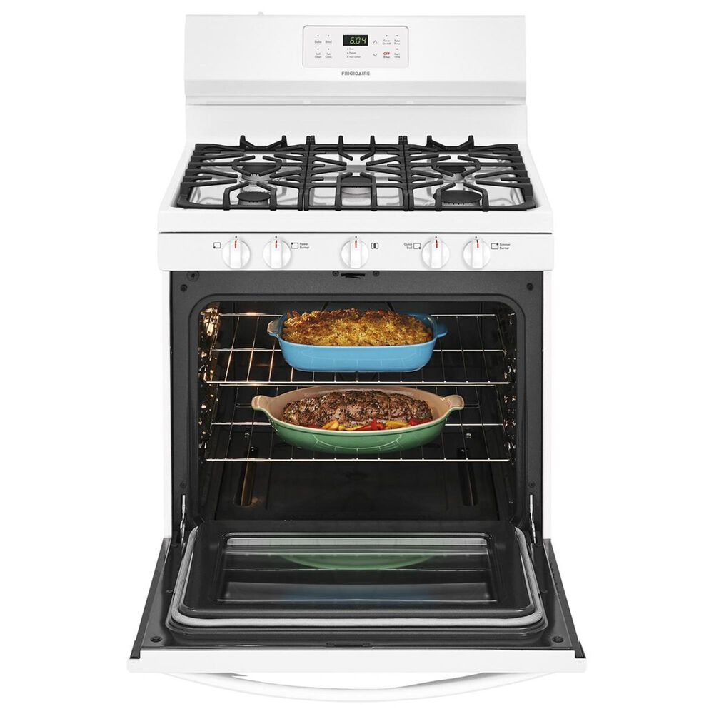 Frigidaire 30''  Free-Standing Gas Range in White, , large