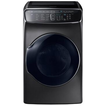 Samsung 7.5 Cu. Ft. FlexDry  Electric Dryer in Black Stainless Steel, , large