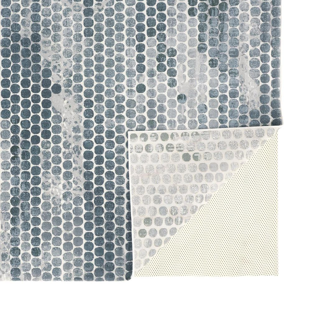 Feizy Rugs Atwell 3171F 10' x 13' Blue and Silver Area Rug, , large