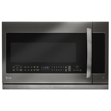 LG 2.2 Cu. Ft. Over-the-Range Microwave with Sensor in Black Stainless Steel, , large
