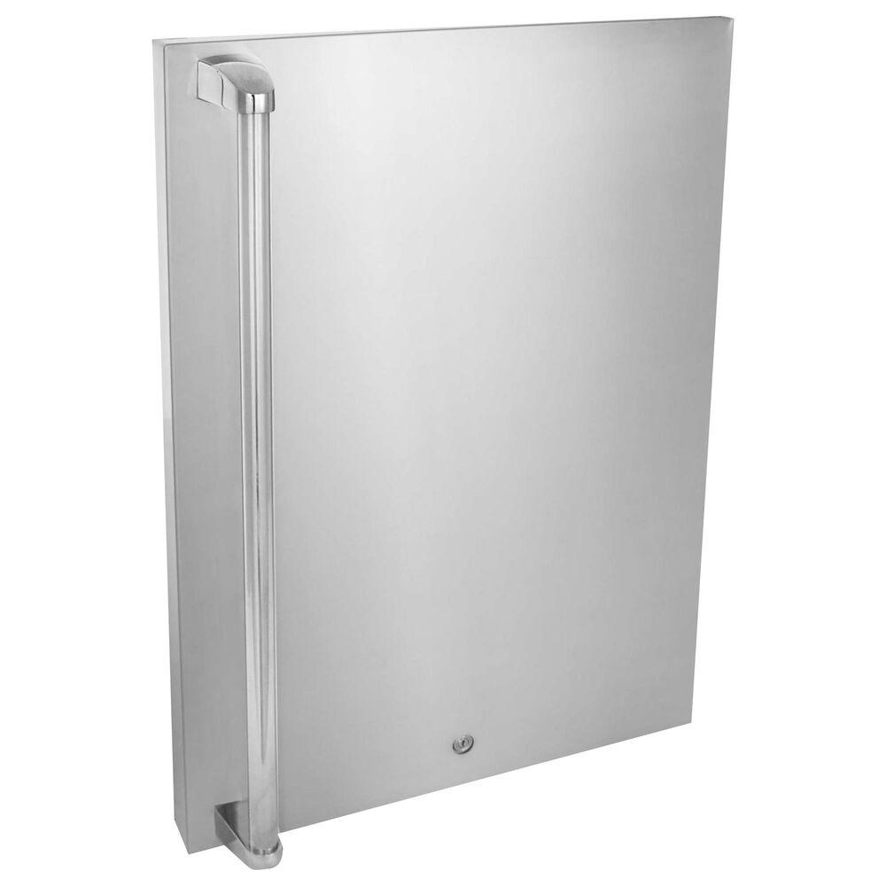 Blaze Front Door Sleeve Upgrade 4.5 in Stainless Steel, , large
