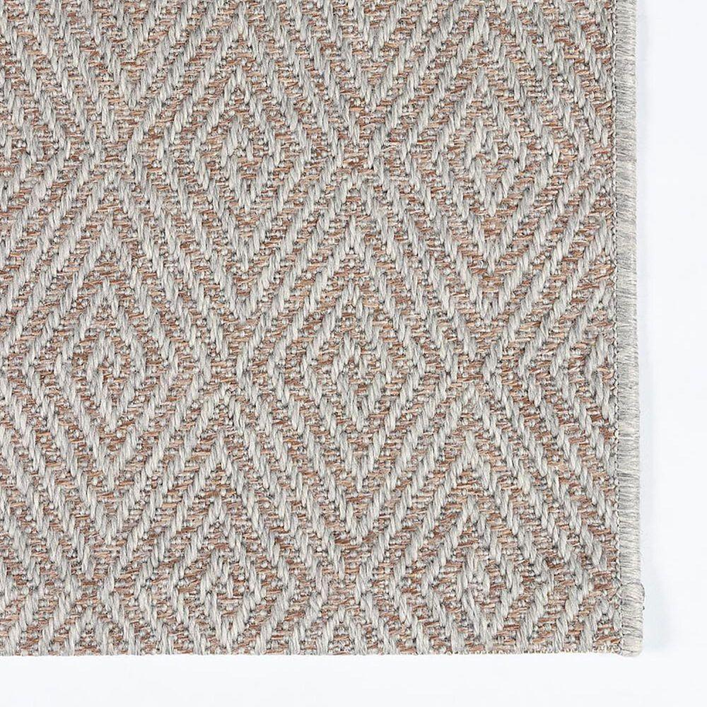 Momeni Como 8' x 11' Grey Indoor/Outdoor Area Rug, , large
