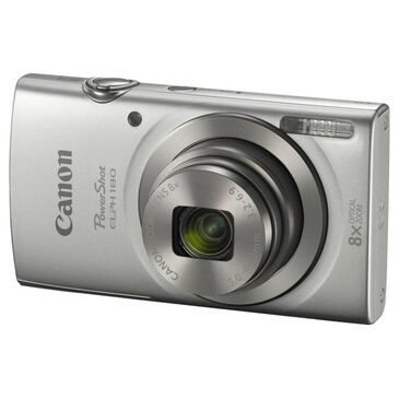 Canon PowerShot ELPH 180 Digital Camera Silver, , large
