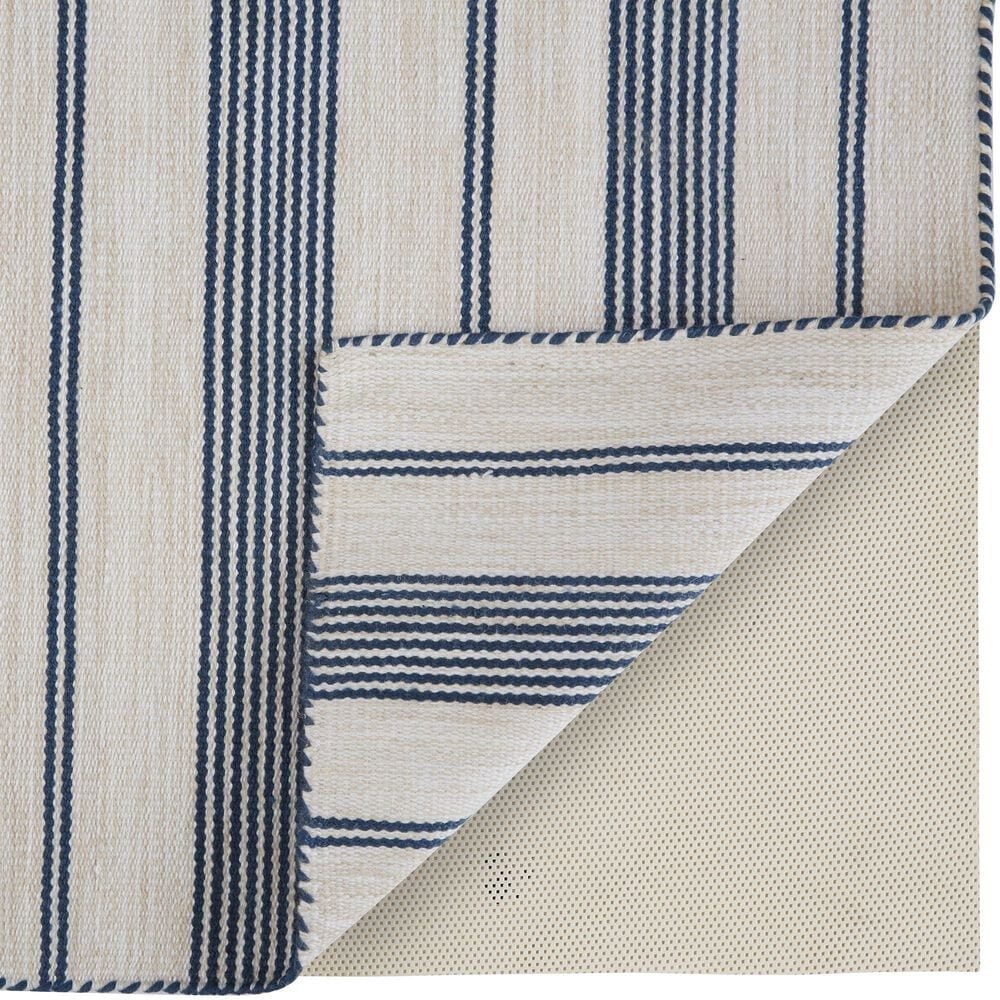 Feizy Rugs Duprine  2' x 3' Blue and Ivory Area Rug, , large