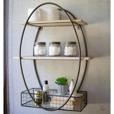Kalalou Wall Unit in Metal and Wood, , large