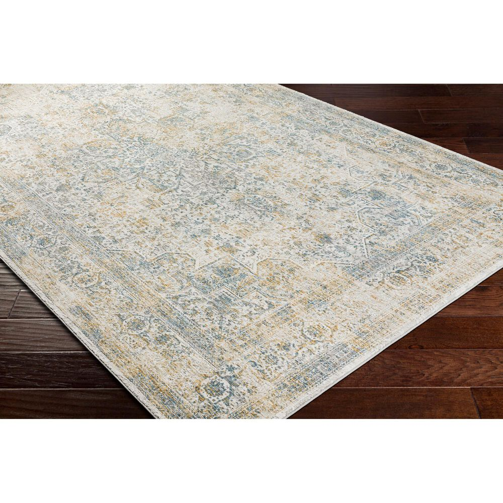 "Surya Carmel 6'7"" x 9'6"" Medium Gray and Taupe Area Rug, , large"