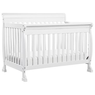 Little Dreamer Kalani 4-in-1 Convertible Crib in White, , large
