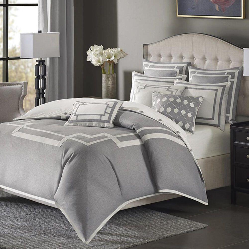 Goldstar Bedding Savoy 8-Piece Queen Comforter Set in Grey, , large