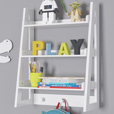 RiverRidge Home Kids Wall Shelf in White, , large