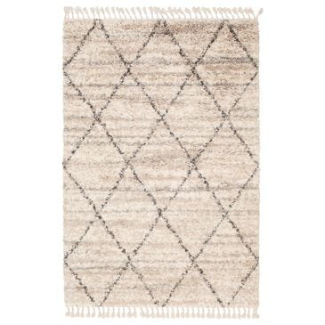 "Central Oriental Castle Finley 6303.167.55 5' x 7'3"" Cream and Beige Area Rug, , large"