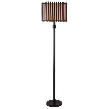 Kenroy Bora Outdoor Floor Lamp in Oil Rubbed Bronze, , large